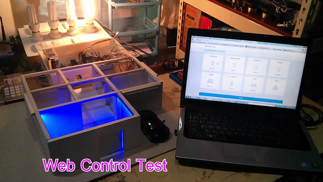 raspberrypi smart home automation test youtube. Black Bedroom Furniture Sets. Home Design Ideas