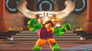 Lego Marvels Avengers Asgard Hub All Character Tokens/Gold Bricks/Collectibles
