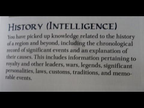 Living History: Making Skill Checks More Interesting