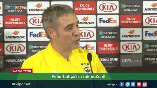 (CANLI) Fenerbahçe Teknik Direktörü Ersun Yanal, basın toplantısında soruları yanıtlıyor