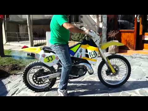 moto husqvarna wr 360 modelo 1994 youtube. Black Bedroom Furniture Sets. Home Design Ideas