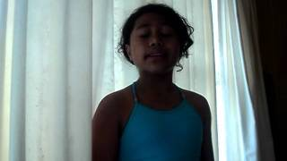 Jesus loves me Whitney houston version, 10 year old
