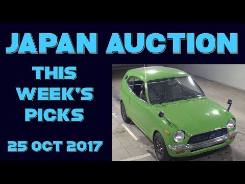 Japan Weekly Auction Picks 043 - 25 Oct 17