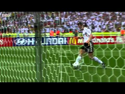 Miroslav Klose's 16 record breaking FIFA World Cup goals