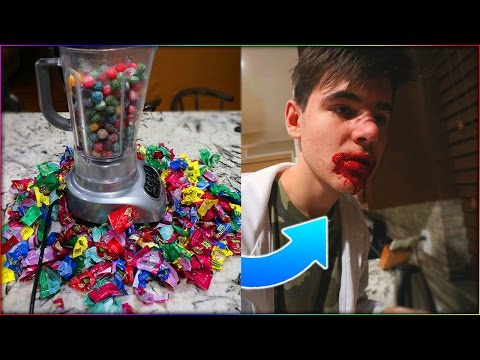 EATING 1000 WARHEADS CHALLENGE GOES WRONG... | David Vlas