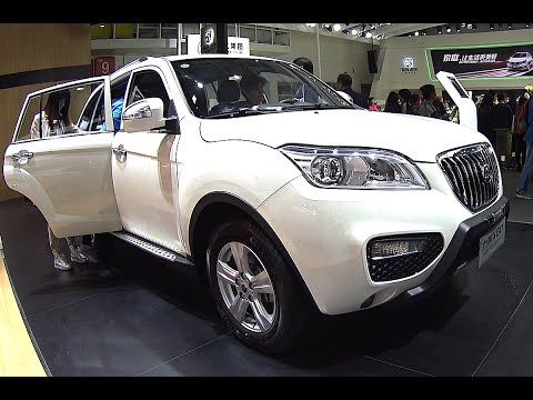 2016, 2017 Lifan X80 SUV is Ready for the Beijing Auto Show