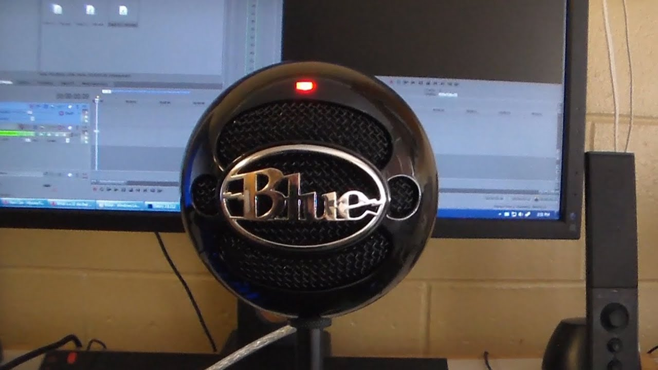 blue snowball microphone unboxing review and test demo youtube. Black Bedroom Furniture Sets. Home Design Ideas