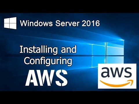 How To Install Windows Server 2016 In AWS EC2