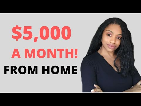 Earn $5000 A Month! Work From Home Job Available Now! Free Computer Provided.
