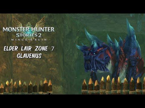 Monster Hunter Stories 2 - Elder's Lair Zone 7 - Glavenus |
