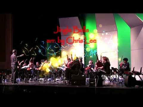 """Jingle Bells"" Arranged For Guitar Ensemble By Chris Lee"