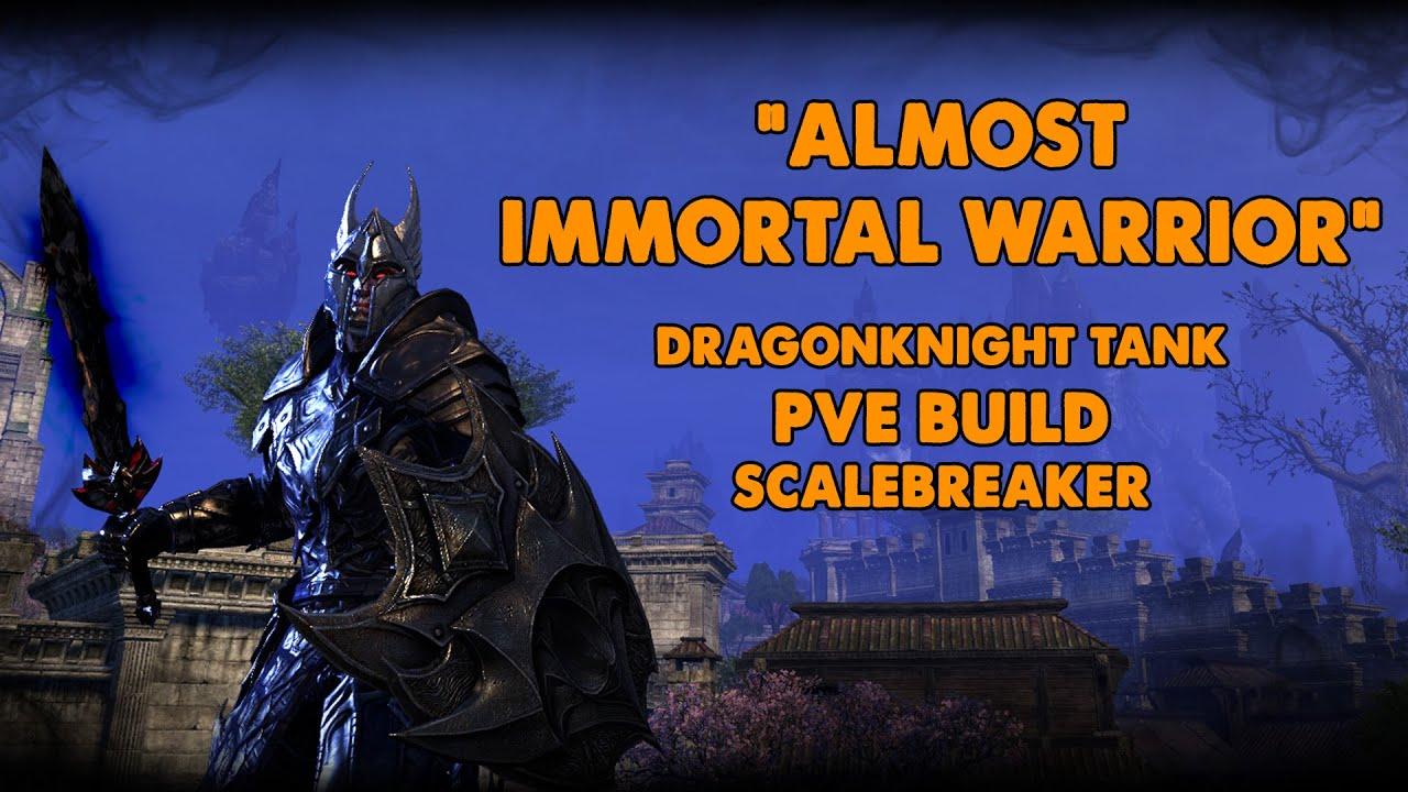 ESO | Dragonknight Tank build | Immortal Warrior | Xynode Gamin