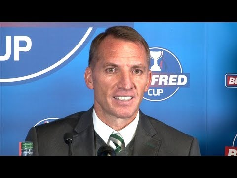 Hearts 0-3 Celtic - Brendan Rodgers Post Match Press Conference - Scottish League Cup Semi-Final