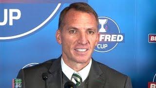 Hearts 0-3 Celtic - Brendan Rodgers Post Match Press Conference - Scottish League Cup Semi-Final