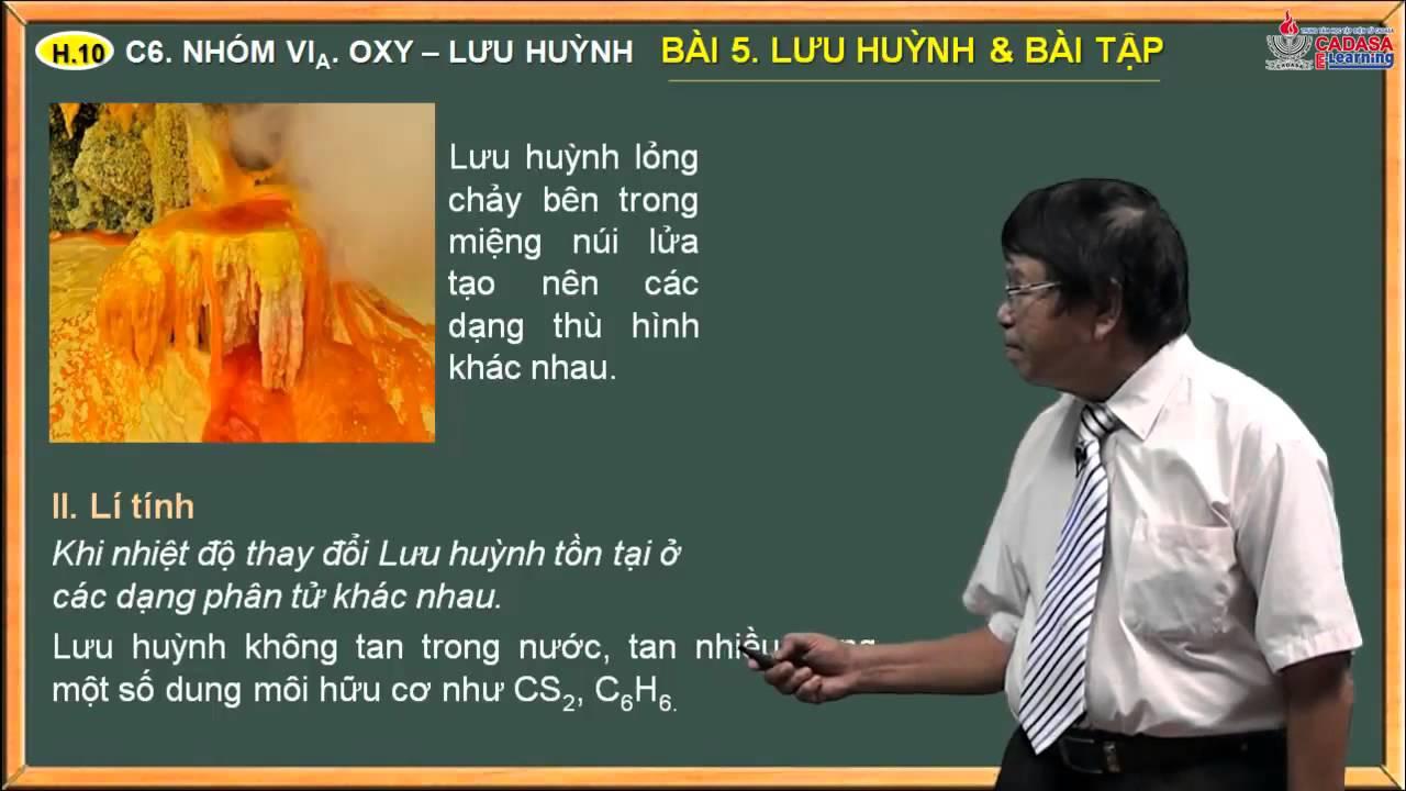Bài tập hóa lớp 10 – Nhóm oxi, lưu huỳnh – Bài 4. Bài tập Oxy – Ozon – hiđro peoxit