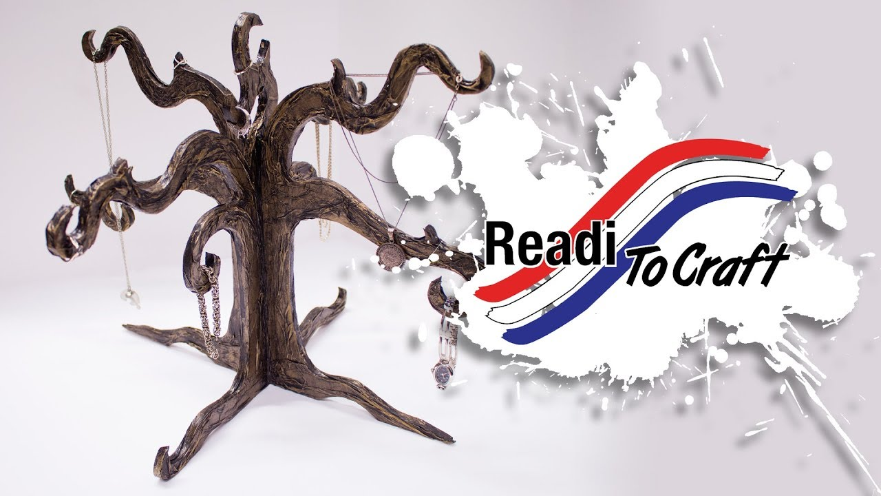 Readi to Craft: Tree Jewelry Holder