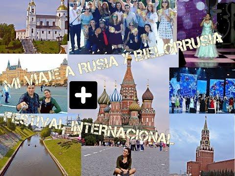Mi viaje a Rusia,  Bielorrusia y  Slavianski Bazaar visto desde adentro!! Cлавянский базар 2016