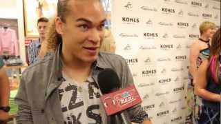 American idol top 10 contestant deandre brackensick reveals how he styles his gorgeous locks! also chatted with clevvermusic about who favorite j...