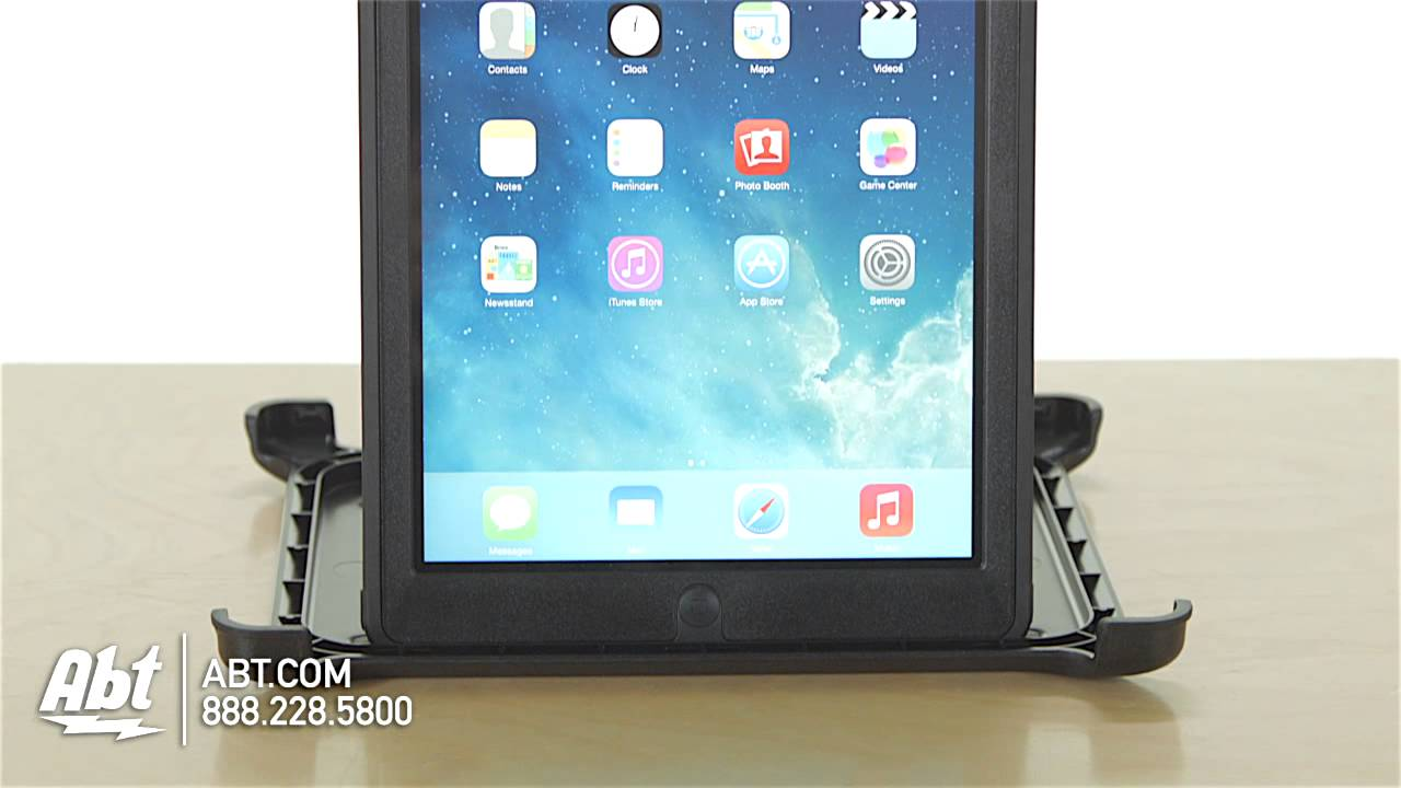 how to put an otterbox on an ipad