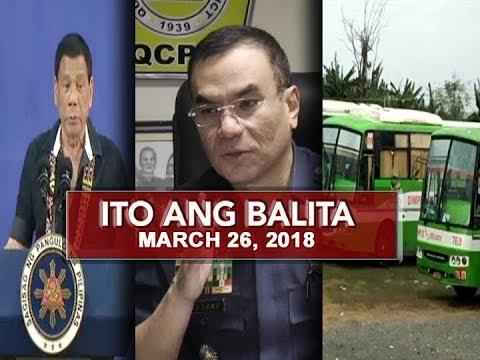 UNTV: Ito Ang Balita (March 26, 2018)