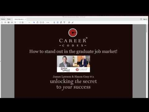 How to stand out in the graduate job market!