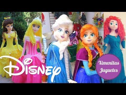 Pinata Piñata De Princesas Disney! Festival De Piñatas Para Fiestas Infantiles