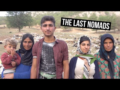 7 Days Living with the NOMADS OF IRAN