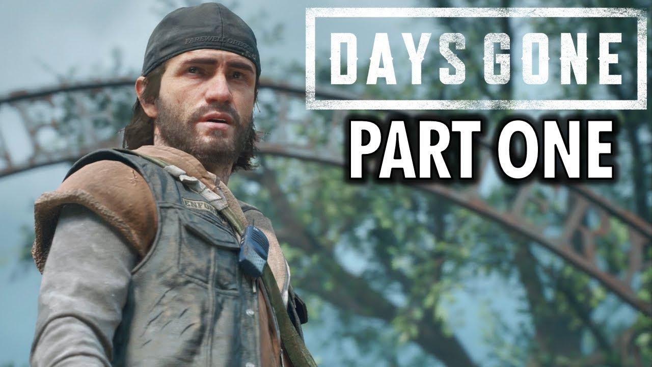 Days Gone Gameplay Walkthrough Part 1 Intro Ps4 Pro