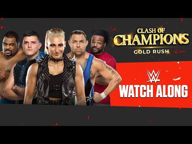 Live WWE Clash of Champions 2020 Watch Along