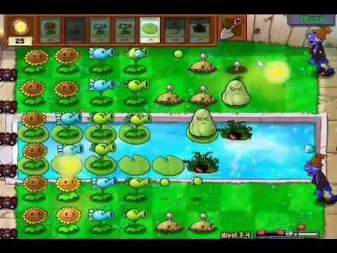 juegos de piscina de plants vs zombies