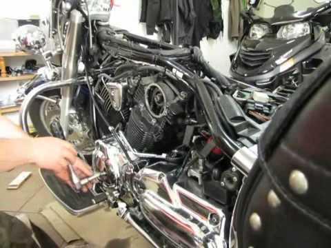 2005 Yamaha V Star 1100 Wiring Diagram Wymiana łańcuszka Rozrządu Xvs 1100 Replacing Timing