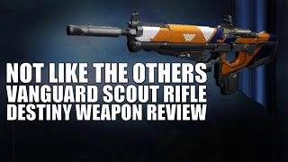 Destiny | Not Like The Others Review (Best Scout Rifle in Destiny: The Taken King!)