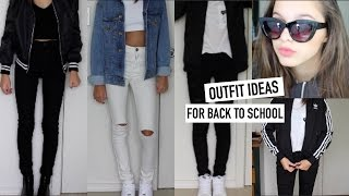 OOTW: THE FIRST WEEK OF SCHOOL OUTFIT IDEAS