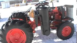 Case 310, Wood Gas Tractor Project.
