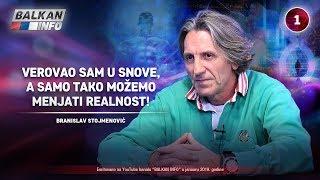 INTERVJU: Branislav Stojmenović - Verovao sam u snove, tako možemo menjati realnost! (22.1.2019)