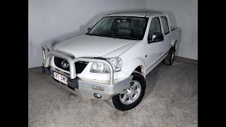 Turbo Diesel 4×2 Dual Cab Ute Manual Great Wall V200 2012 Review For Sale