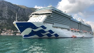 Sky Princess Cruise Ship Tour 4K