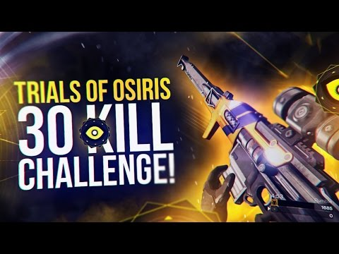 Destiny: Trials of Osiris 30 Kill 1v3 Challenge Attempt!