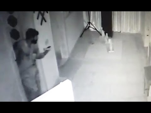 CCTV footage of robbery in Gujranwala