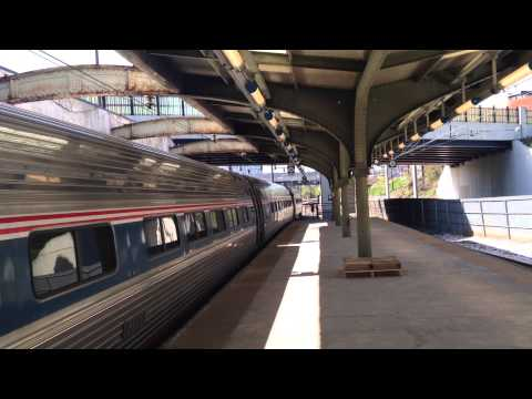 Amtrak Northeast Regional Train 156 to New York-Penn Station @ Baltimore-Penn Station
