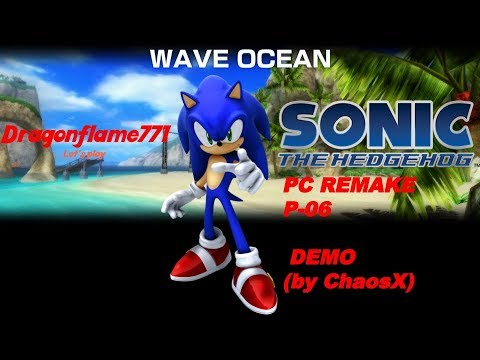 Let's play Sonic The Hedgehog 2006 PC remake P-06 DEMO (by