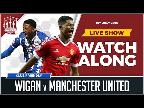 Manchester United Vs Wigan Athletic LIVE Match Watchalong