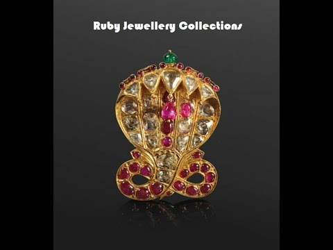 Elegant Ruby jewellery collection