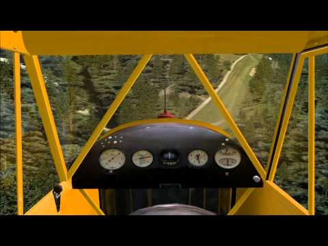 Fsx extreme short landing at Orcas Island