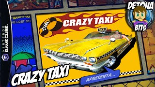 Gameplay Crazy Taxi Gamecube  (Sega Dreamcast, PC, PS2, PSP)   PT-BR