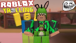Trolling a Roblox YouTuber!