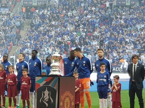 CHELSEA V MAN UTD | FA CUP FINAL 2018 | MATCHDAY VLOG