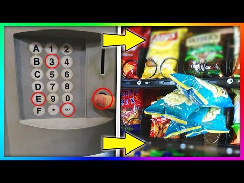 Thumbnail: GET FREE STUFF FROM A VENDING MACHINE! (Life Hacks)