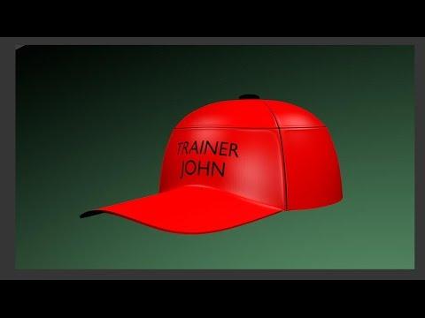 how to make a baseball cap
