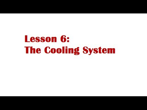 Lesson 6: The Cooling System